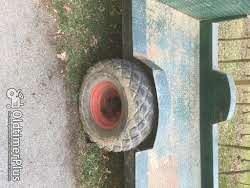 Eigenbau Traktor Anhänger/Tieflader Foto 5