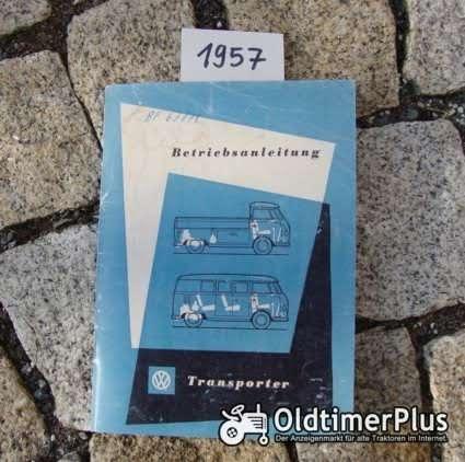Betriebsanleitung VW Transporter T1 1957 Foto 1