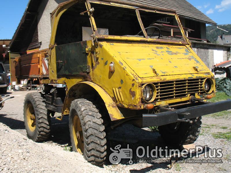 Mercedes UNIMOG 401 102 U 25 Oldtimer Foto 1