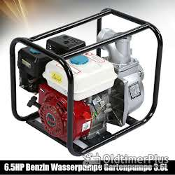 Sonstige Benzin Wasserpumpe 6,5 PS Motor Neuware OVP