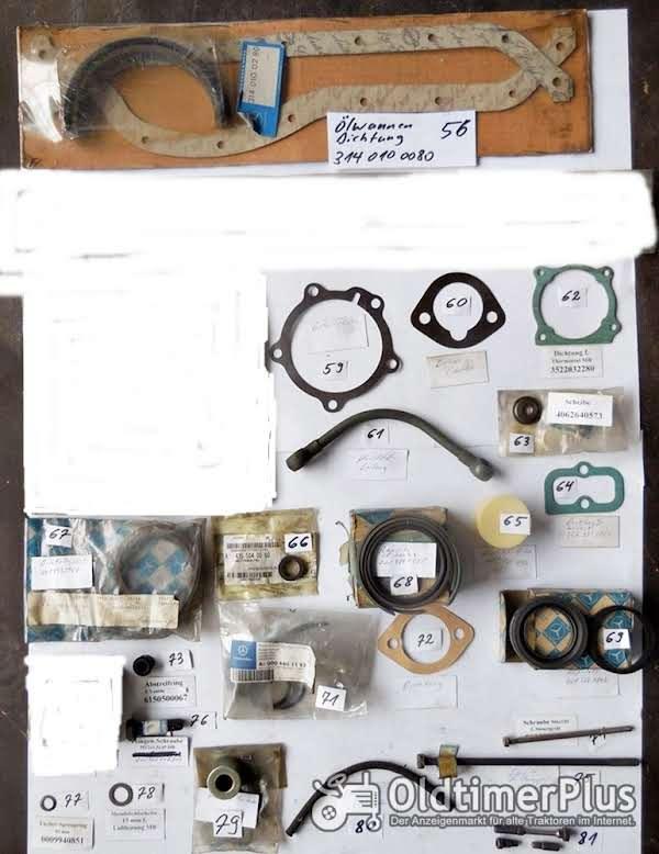 Mercedes Unimog, MB Trac, MB-Trac, Ersazteile, Sortiment C Foto 1
