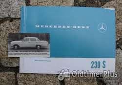 Betriebsanleitung Mercedes W111 220 SE 1963 Foto 2