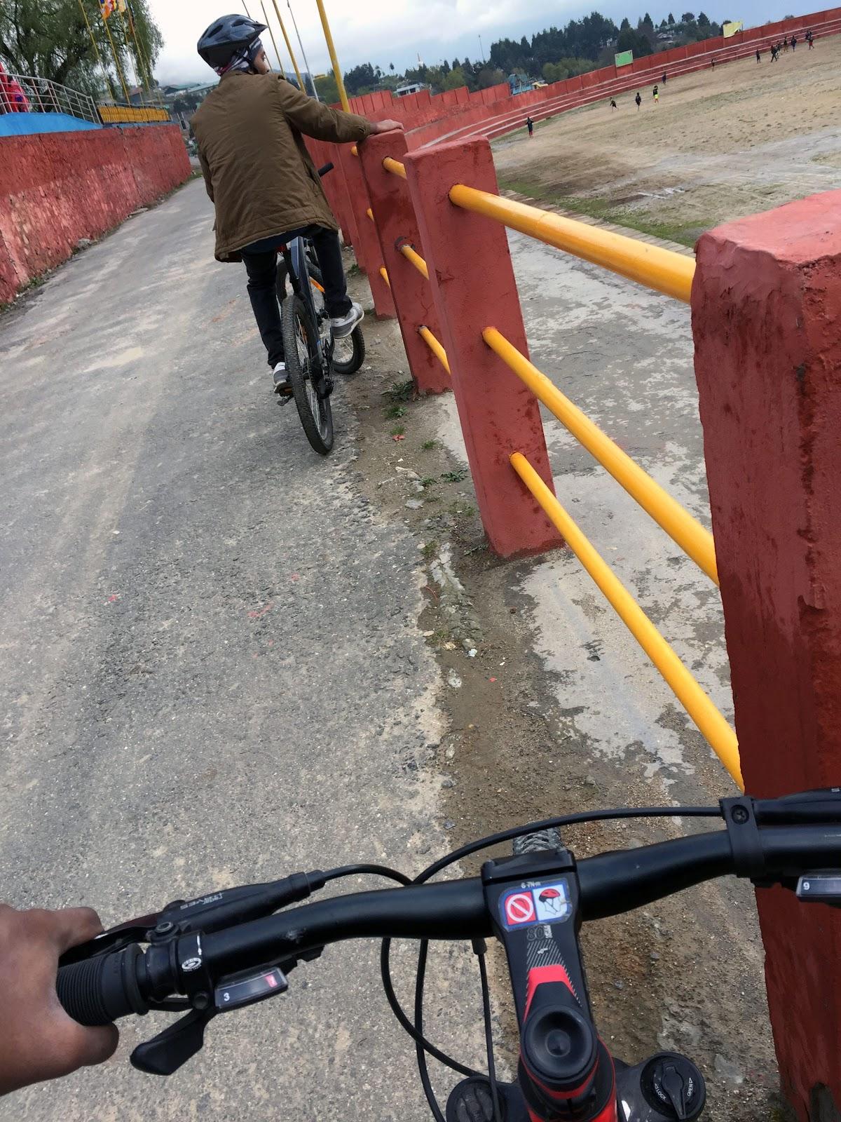 cycling in tawang
