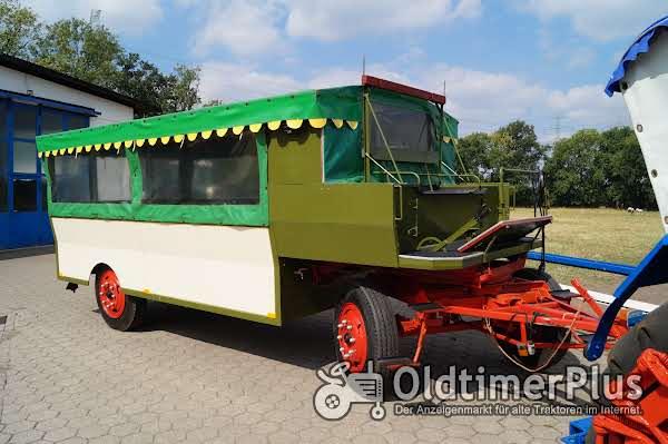 Eisenwerk Grümer Planwagen - Anhänger – Einzelstück – Typ DB 8000 – DB 80 Foto 1