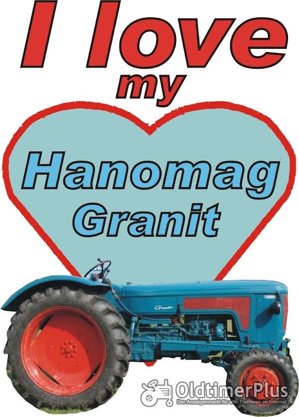 I love Hanomag Granit  T-Shirt Foto 1