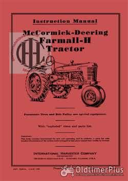 IHC Mc Cormick Farmall en International werkplaatsboeken  handleidingen en onderdelenboeken Foto 12