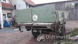 F. Stille aus Münster Westfalen. Typ M94. Triebachswagen mit Kratzboden (Mistwagen) für Oldtimer Foto 5