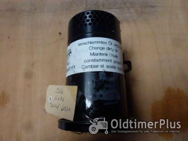 Solo Hacke 565 Ölbad Luftfilter ohne unteren Deckel Foto 1