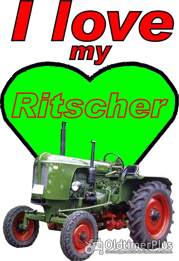 I love Ritscher  T-Shirt Foto 1