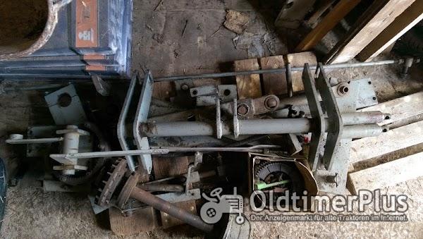 Deutz Fronthydraulik und Frontzapfwelle für D 6206A Foto 1