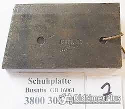 Busatis Mähwerk, Ersatzteile, Messerkopf, Messerrücken, Schuhplatte, usw. Foto 3