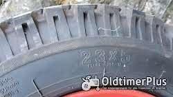 Heidenau 23x5 2x Reifen 23x5 auf Felge für 11er Deutz nicht orginal! Foto 5