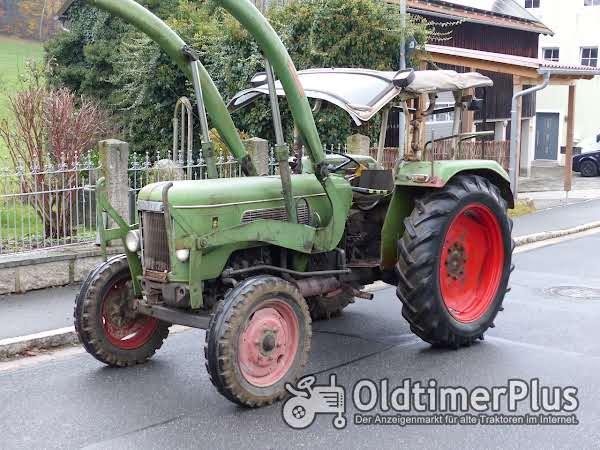 Fendt Farmer 3 S mit Verdeck Frontlader Schnellgang in Original Patina photo 1