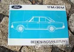 Betriebsanleitung Ford P7a 20M V6 1967 Foto 2