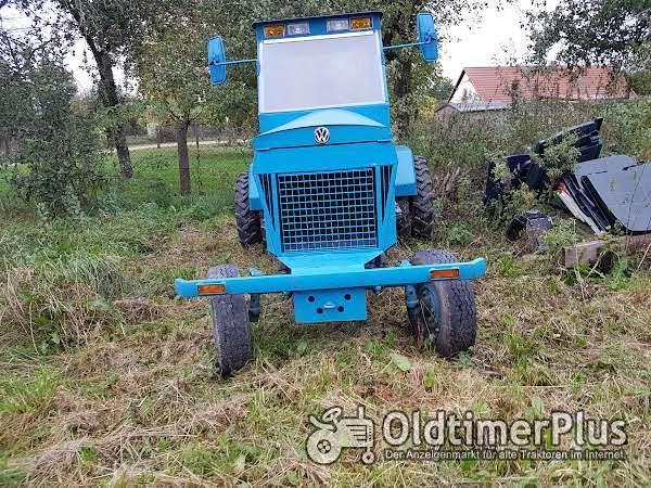 Eigenbau leistungsstarker Traktor Foto 1