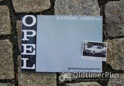 Literatur Betriebsanleitung Opel Kapitän B / Admiral B 1969