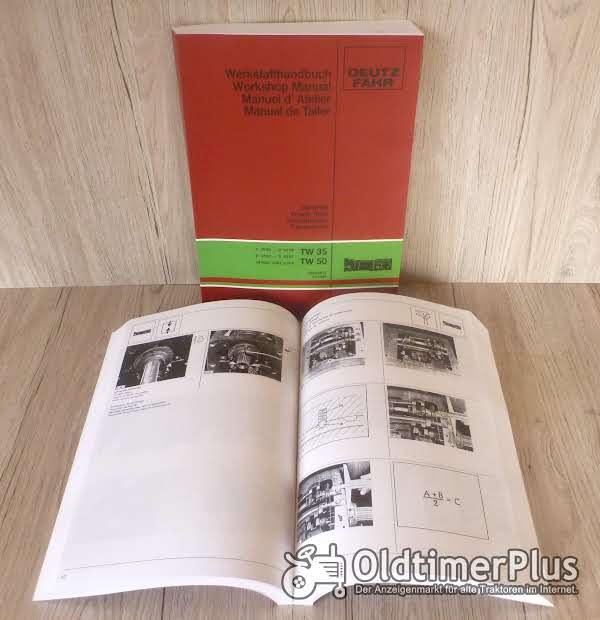 Deutz Werkstatthandbuch für Traktor Getriebe TW 25 TW 35 -TW50 Foto 1