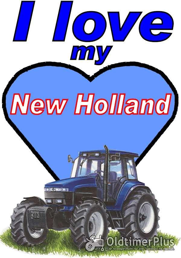I love New Holland  T-Shirt Foto 1