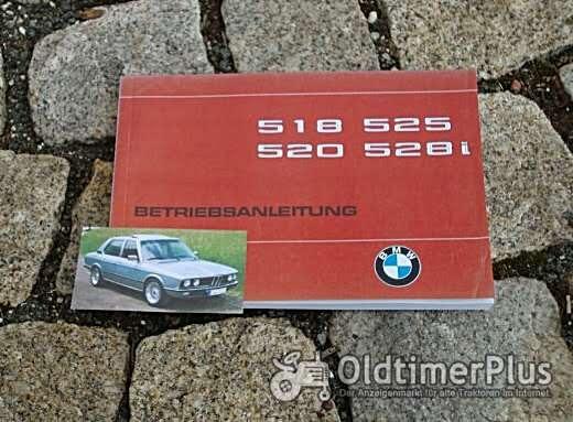 Betriebsanleitung BMW E12 518 520 525 528i 1979 Foto 1