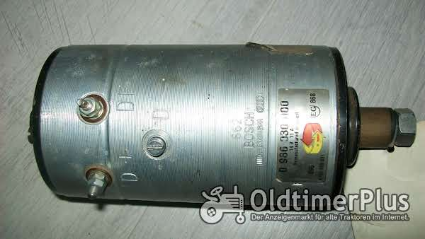 Bosch 0986030000 Lichtmaschine NEU für AGRIA 4800 Motor CRD 100 P Foto 1
