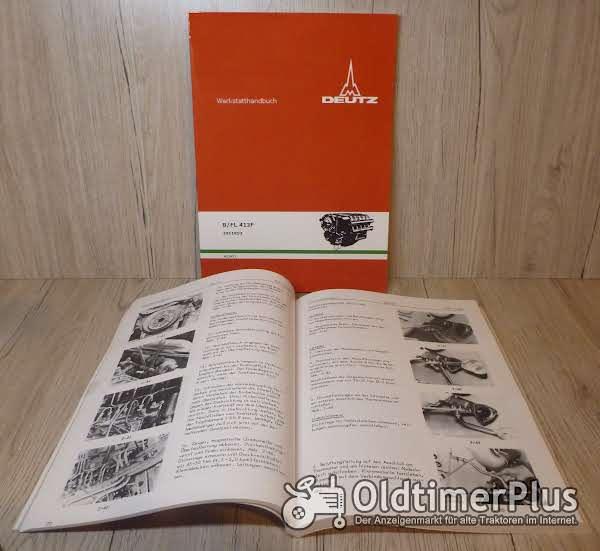 Deutz Werkstatthandbuch Motor B/ FL 413 / F  für 6,8,10,12 Zylindermotoren  Ausgabe 8/1977 Foto 1