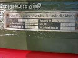 Anhänger-Köstner Ackerwagen Foto 3