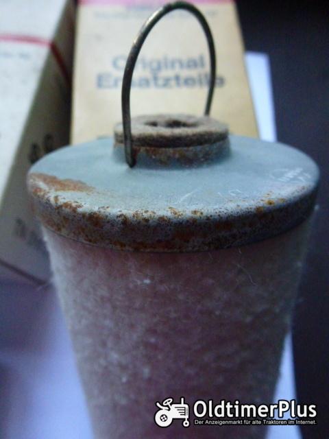 Deutz  01160033 2x Kraftstofffilter für Deutz - Case IHC - Fendt - John Deere u.a. Foto 1