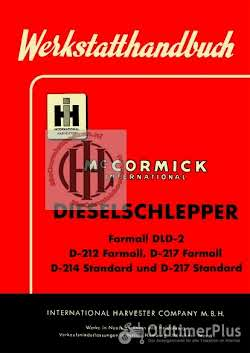 Mc Cormick IHC Farmall Case IH International Mc Cormick Farmall en International werkstattbücher betriebsanleitungen ersatzteillisten Foto 9