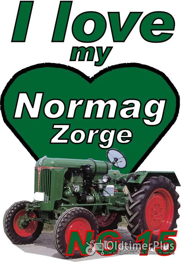 I love Normag NG 15  T-Shirt Foto 1