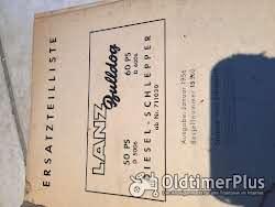 Lanz Bulldog Ersatzteile Liste für D6006 und D5006 Foto 2