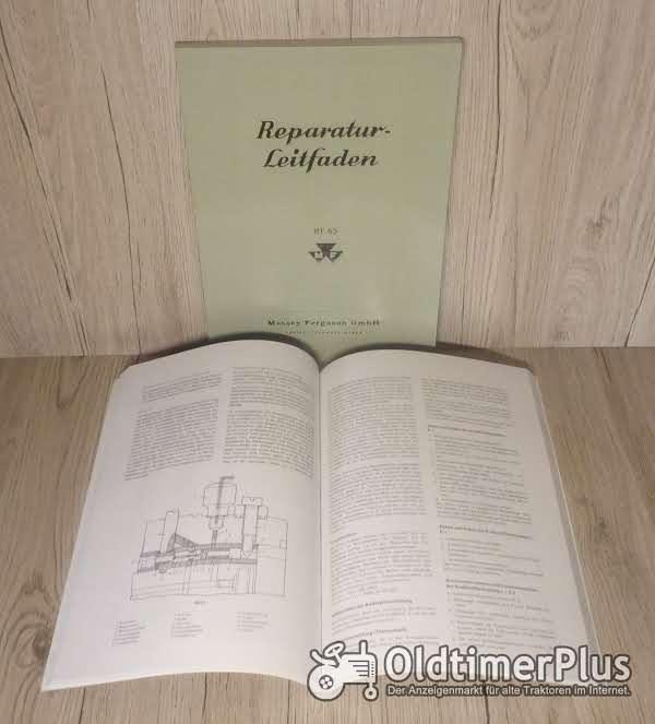 Werkstatthandbuch  MASSEY FERGUSON  MF 65 Schlepper Foto 1