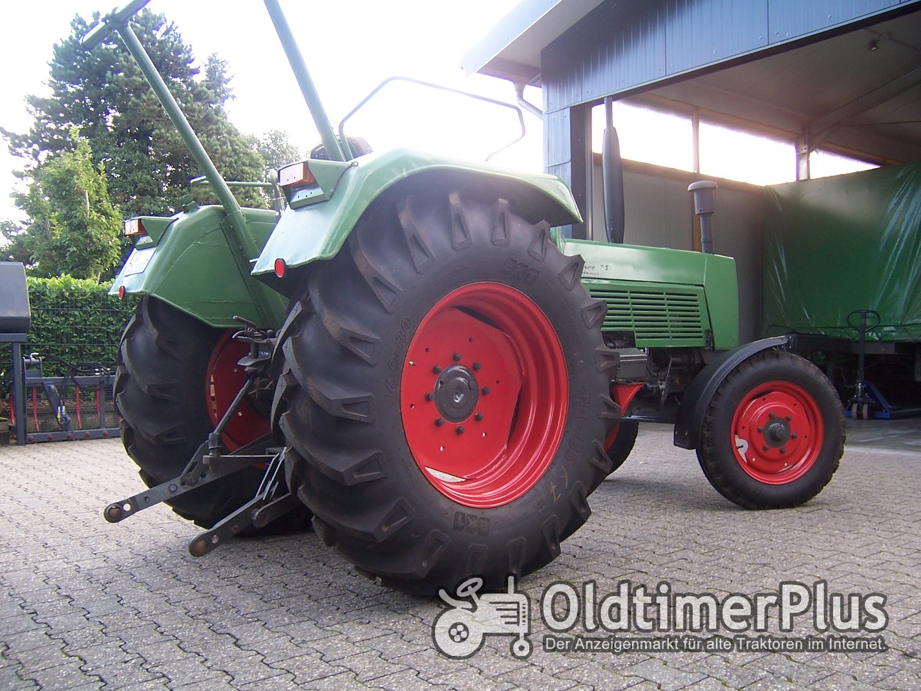 Fendt Farmer 3 S Turbomatik Foto 4