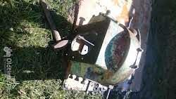Deutz F4l514 kupplungsglocke Foto 4