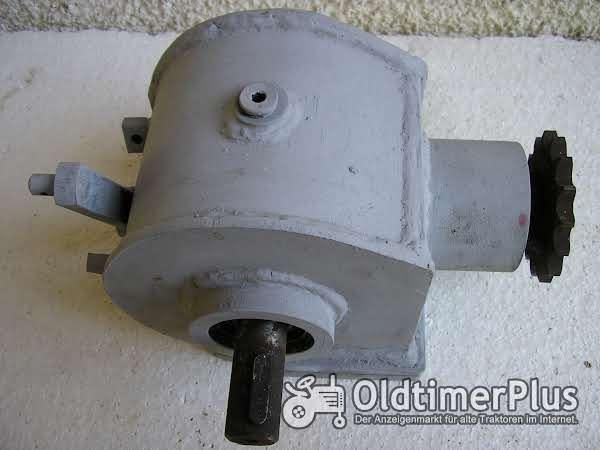 Winkelgetriebe Foto 1