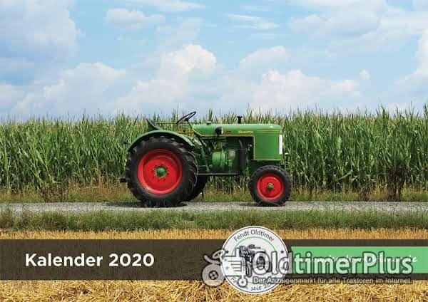 Fendt Oldtimer Kalender 2020 photo 1