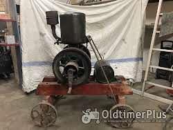 Lister Dursley England Standmotor Junior B16 Foto 2