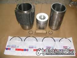 Motorenteile 24 neue Kolben 105mm für MWM D-916  mit 35mm Bolzen .