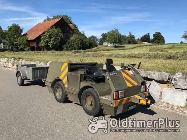Bucher FS10 Flugzeugschlepper - Strassenschlepper - Motorkarren 25 km/h Foto 1