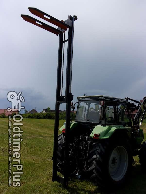 Jungheinrich Hubmast für Traktoranbau, Heckstapler, Anbaustapler, Staplerhubmast Foto 1