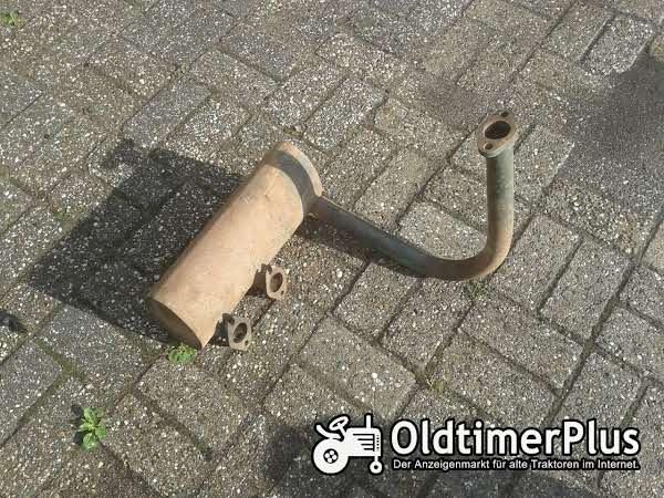 MAN 2 Zylinder Auspuff Foto 1