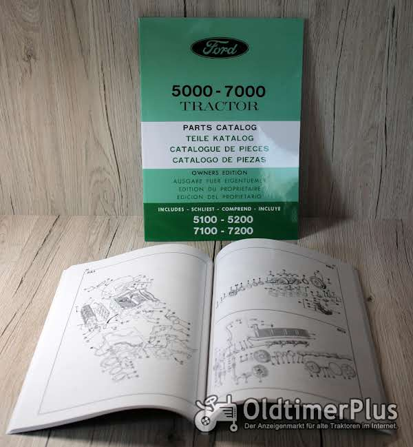 Ford Ersatzteilliste für 5000-7000 Traktor Foto 1