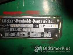 Deutz Deutz D 15 Schlepper/Oldtimer; Bj 1960; Hydraulik; Mähbalken Foto 10