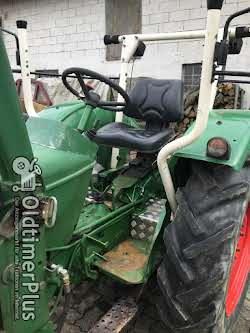 Deutz D4005 Frontlader Kat. 2 hydraulische Lenkung, viele Neuteile Foto 8