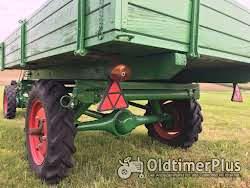 AGRIA Hatz Agria 2800 Hatz 12 PS mit Völker Triebachs-3Seit-Kipper-Anhänger Foto 8
