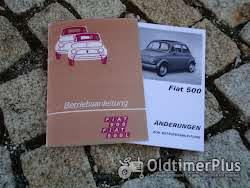 Betriebsanleitung Fiat 500 F L 1970 Foto 2