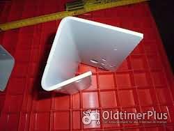 Lanz 28,32,und 36 PS Halbdiesel Lampenhalter Links und Rechts Foto 4
