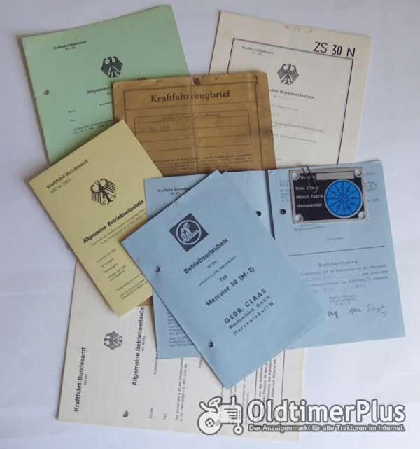 ABE, Allgemeine Betriebserlaubnis, KFZ-Brief Foto 1