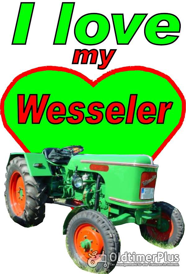 I love Wesseler T-Shirt Foto 1