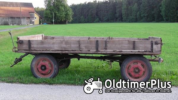 -- Traktor Anhänger Foto 1