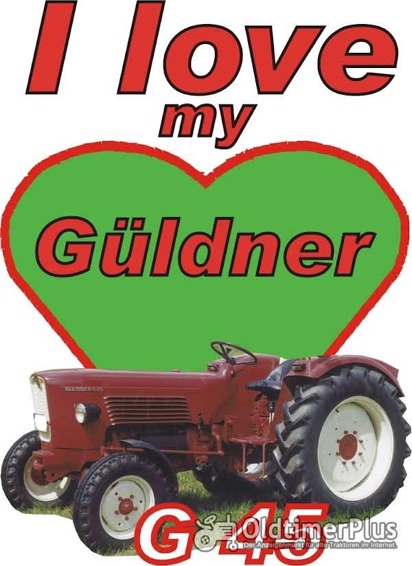 I love Güldner G 45 T-Shirt Foto 1